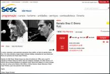SESC com Renato Braz